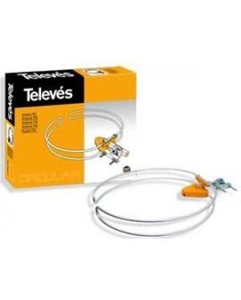 Antena Circular FM 1dB Televes 1201