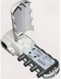 Amplificador de antena para interior 2 salida+TV, 88-862MHz. R5-65 pas./Tele