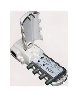 Amplificador de interior 2 salidas + TV, R5-65 paso corriente