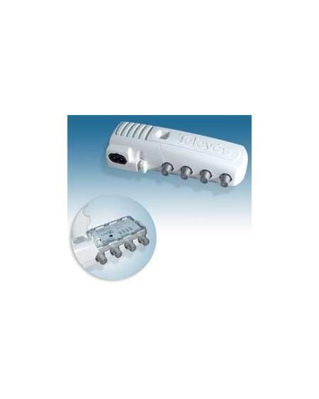 Amplificador de Interior para TDT y Satélite 2 salida+TV