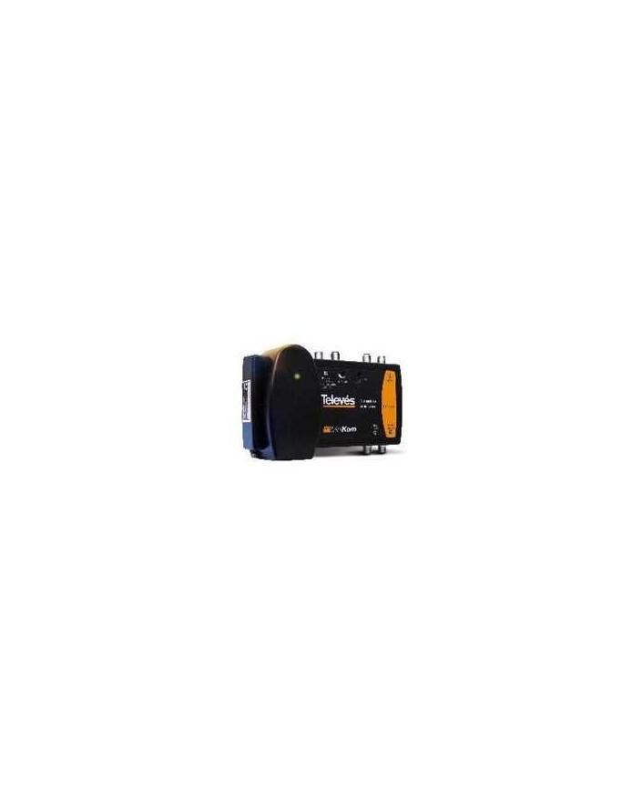 Central Minikom 2e: FI 2150-mezcla MATV, 45dB/124 dBuV- 22KHz.