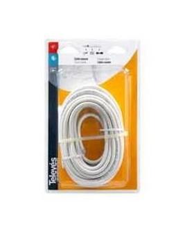 Rollito de Cable Coaxial Televes 4355 CXT blanco 20 metros