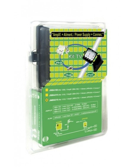 KIT Amplificador SBA-210+Alimentador APB-624