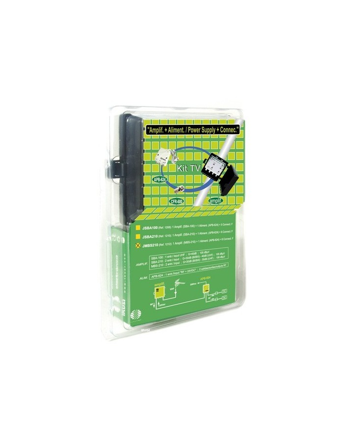 KIT Amplificador MBS-200 + Alimentador APB-124