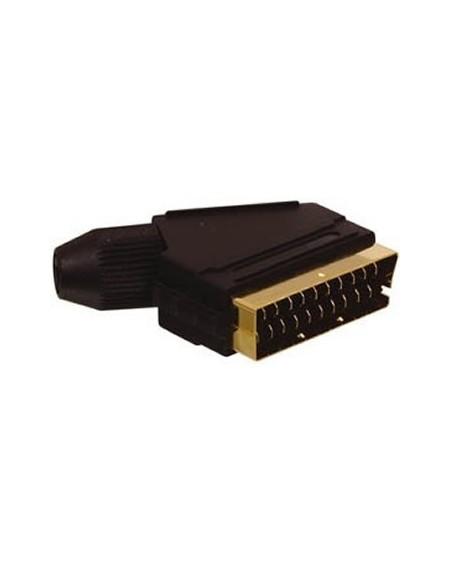 Cable Euroconector dorado HQ/EDC