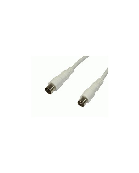 Cable Antena TV macho-hembra recto 1.5 mts Edc