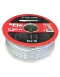 Cable Coaxial Cobre-Aluminio 100m/Fte