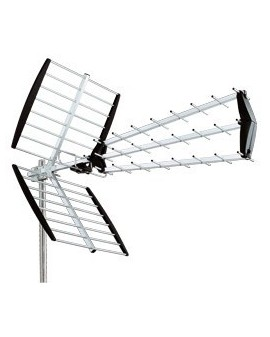 Antena TDT-UHF Tipo Triple 18 dB LTE