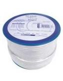 Rollo de Cable Coaxial 100 metros Engel CA1900 cobre estaño, cinta de aluminio y conductor central de 1,02 mm