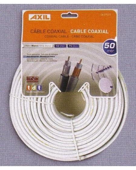Rollo Cable Coaxial 50 metros 19VAtC Engel aluminio
