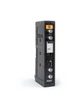 Amplificador monocanal UHF de alta selectividad 55 dB / 125 dBuV Televes 509812 serie T12