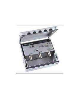 Mezclador para mastil MP6101 de 2 entradas VHF-UHF /Engel
