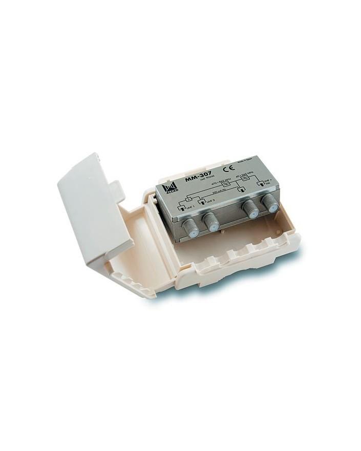 Mezclador mastil 3 entradas UHF-UHF-VHF/FM con P.C /ALCAD