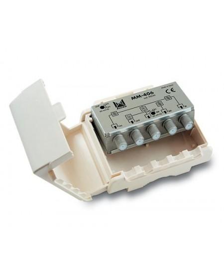 Mezclador mastil 4 entradas UHF-Blll-Bl-FM con P.C /ALCAD