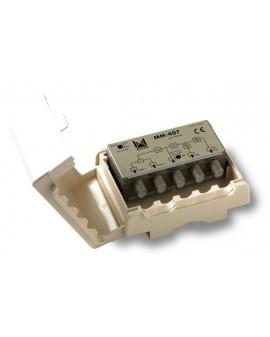 Mezclador mastil 4 entradas UHF-UHF-Blll-Bl/FM con P.C /ALCAD
