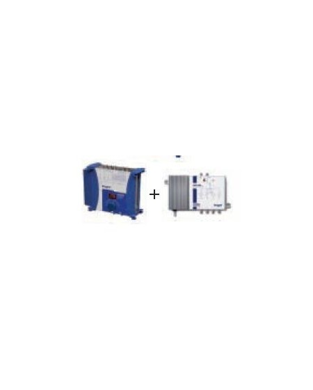 Kit Central Amplif. AM2000 + Central Reamplif. AM1100 /Engel
