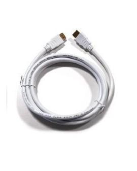Cable HDMI Macho tipo A / Macho tipo A Blanco (1,5 m) /Engel