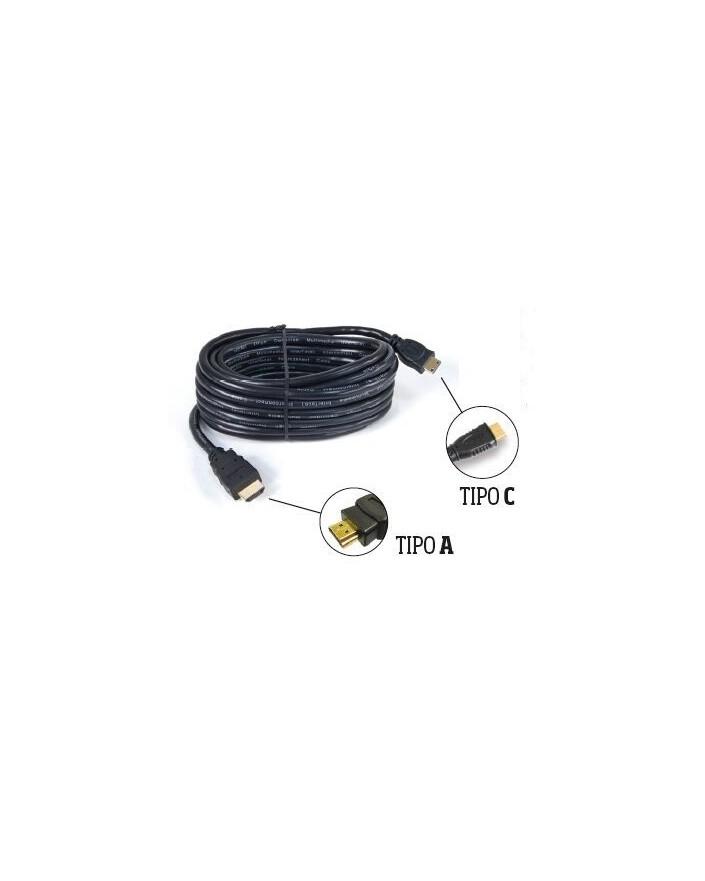 Cable HDMI Macho tipo A / Macho tipo C (2 m) /Engel