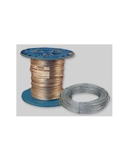 Cable acerado 4 mm / 100 mts