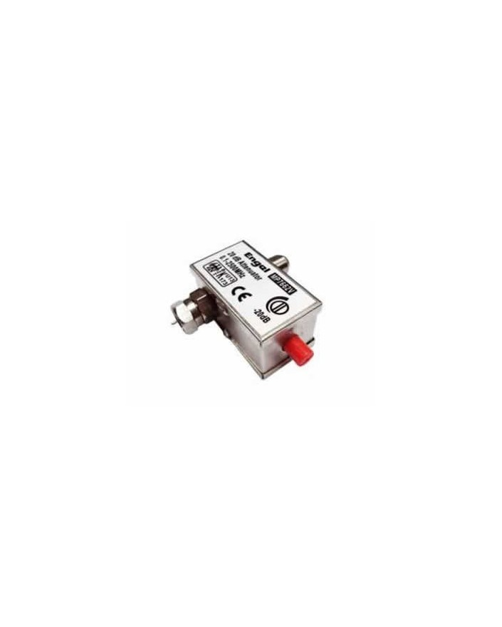 Atenuador F 0-20 db-Engel MP7662V