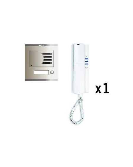 KIT KF-1 PORTERO ELECT. COMPACT
