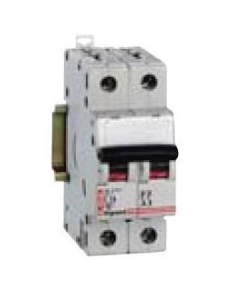 Magnetotérmico DV 6KA  1 P+N 6A CURVA-C LEXIC