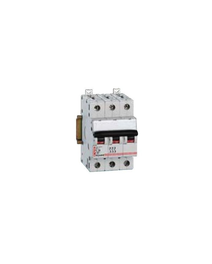 Magnetotérmico DX 6/10KA 3 Polos 10A CURVA-C LEXIC