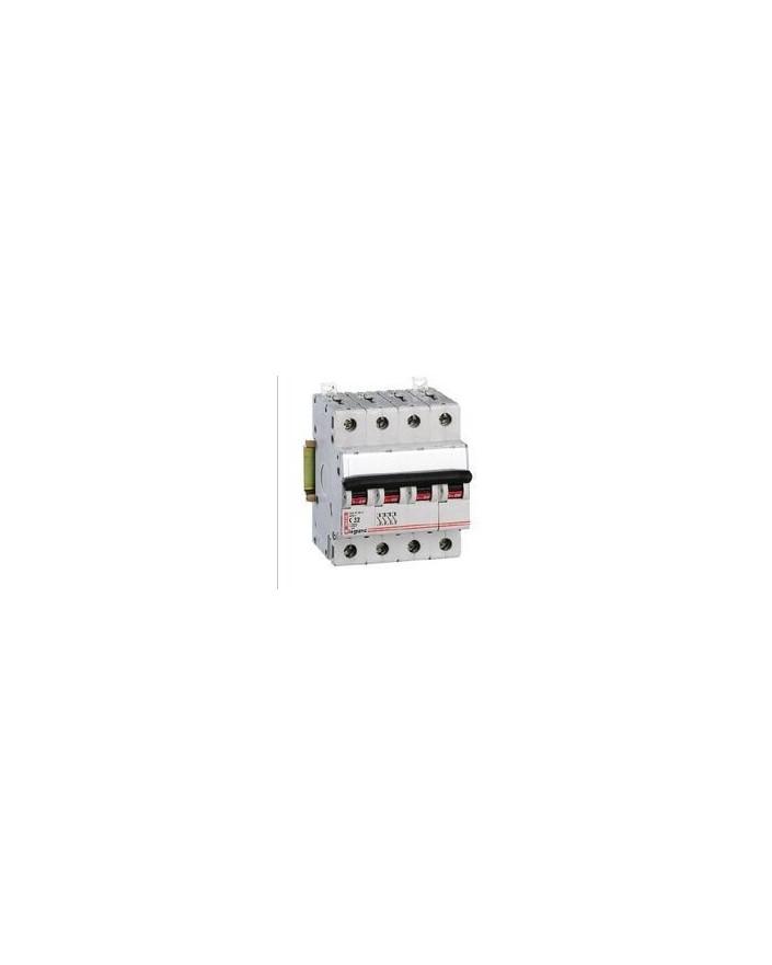 Magnetotérmico DX 6/10KA 4 Polos 10A CURVA-C LEXIC