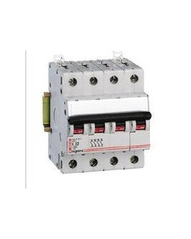 Magnetotérmico DX 6/10KA 4 Polos 25A CURVA-C LEXIC