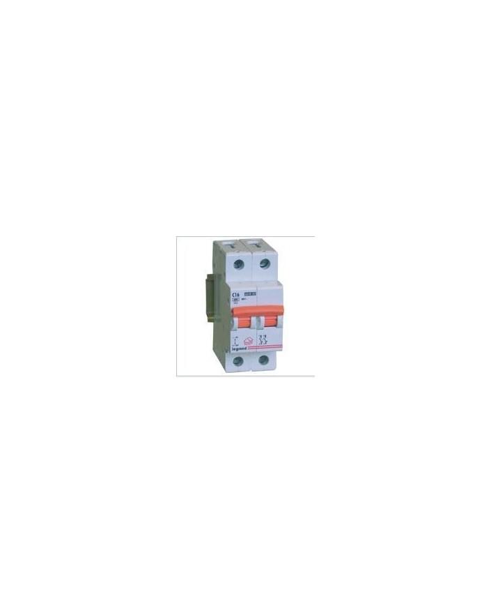 Magnetotérmico LR 1P+N 2 módulos 10A 230V CURVA C