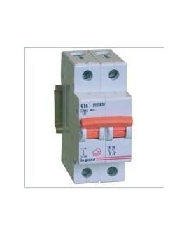 Magnetotérmico LR 1P+N 2 módulos 16A 230V CURVA C
