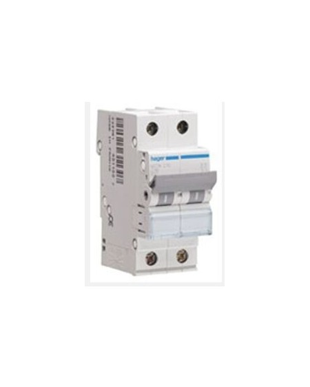 Magnetotérmico serie MU 1P+N 2 módulos 16A CURVA C