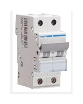 Magnetotérmico serie MU 1P+N 2 módulos 25A CURVA C