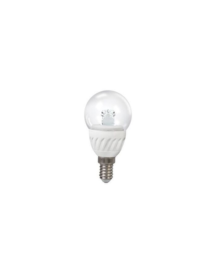 Bombilla LED Toledo Ball Clear 3W 827 E14