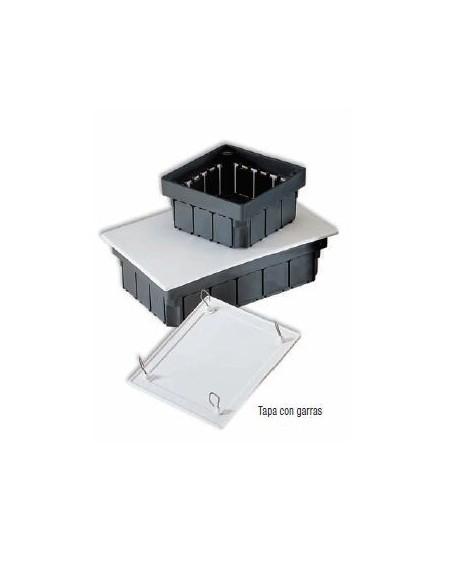 Caja empotrar con tapa con garras 160X100X50