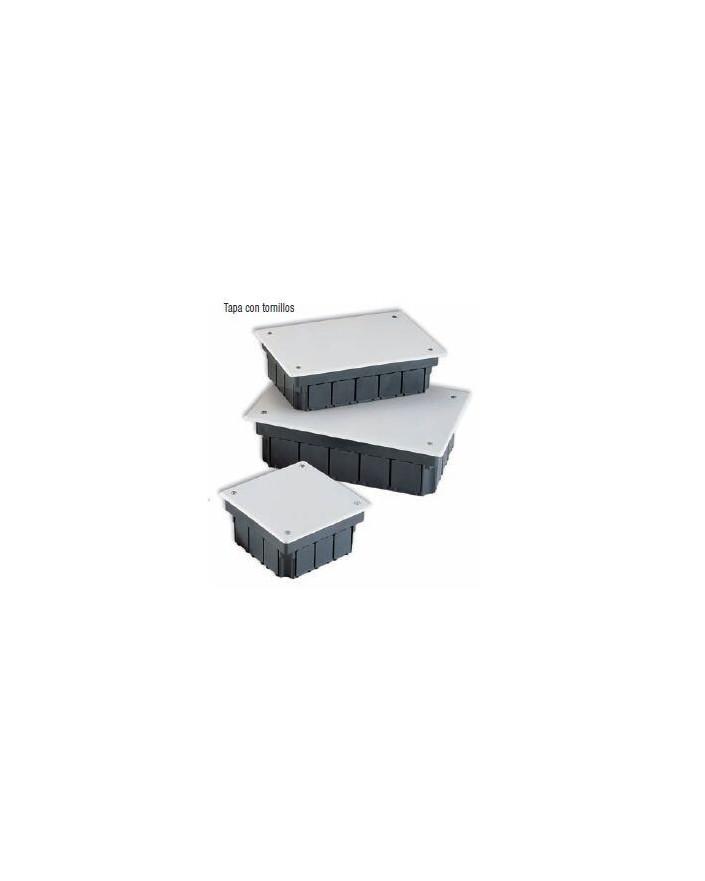 Caja empotrar con tapa de tornillos 200x130x60