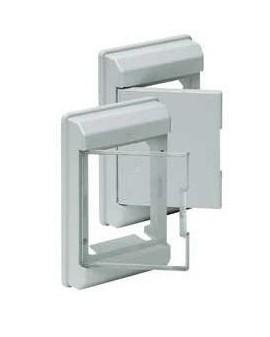 Marco y puerta marfil para caja de ICP