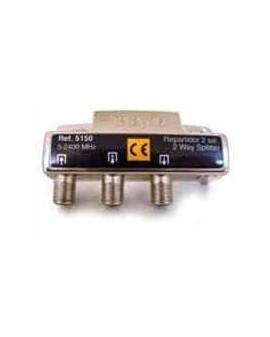 Repartidor de 2 salidas, conector F 2400MHz