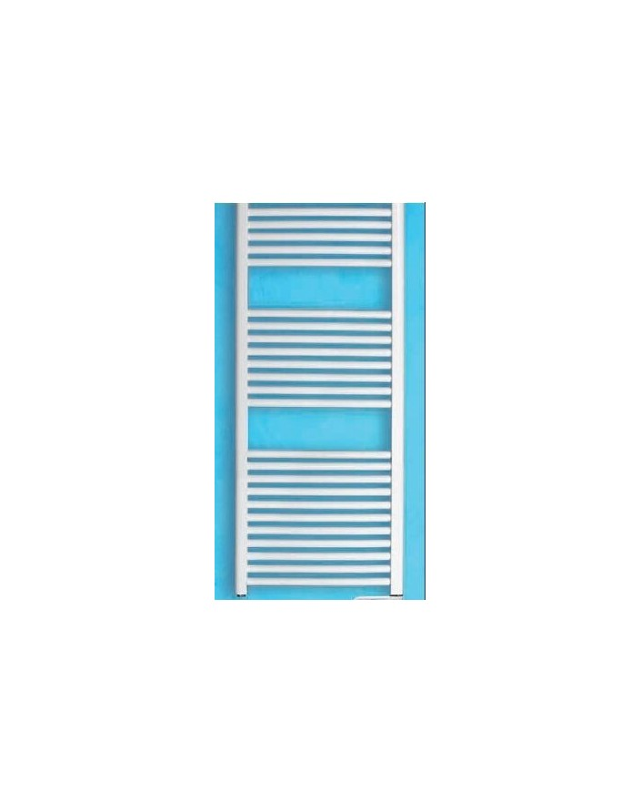 Radiador secatoallas 700W 25 barras con termostato mural