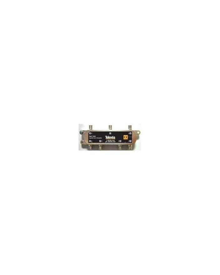 Repartidor de 6 salidas, conector F 2400MHz