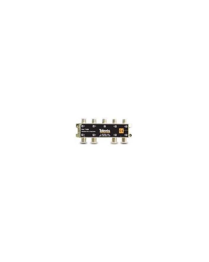 Repartidor de 8 salidas, conector F 2400MHz