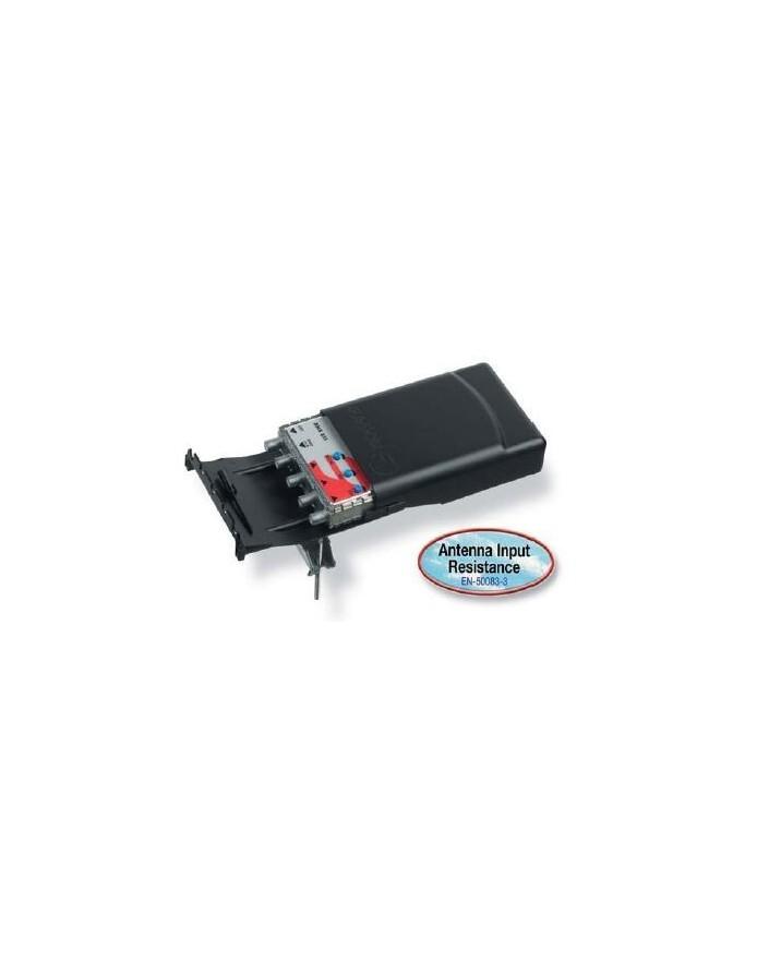 Amplificador de mástil 1 entrada UHF con paso de corriente AMB 802 DC