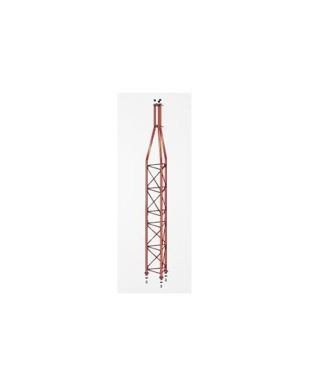 Tramo Superior Torre 360 Zinc+Rojo 3m