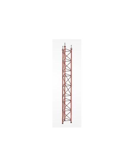 Tramo Intermedio Torre 360 Zinc+Rojo 3m