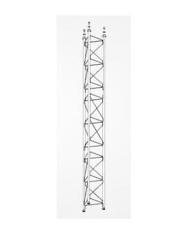 Tramo Intermedio Torre 360 Zinc+Blanco 3m