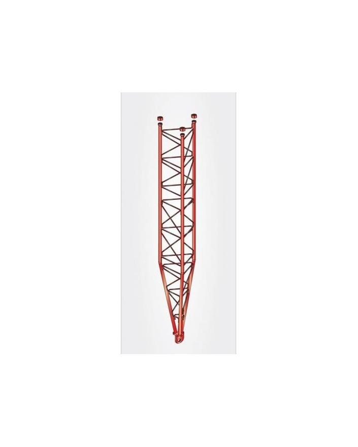 Tramo Inferior Basculante Reforzado Torre 450 Zinc+Rojo 3m