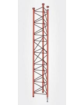 Tramo Intermedio Torre 450 Zinc+Rojo 3m