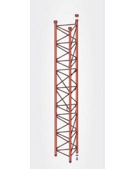 Tramo Intermedio Reforzado Torre 450 Zinc+Rojo 3m