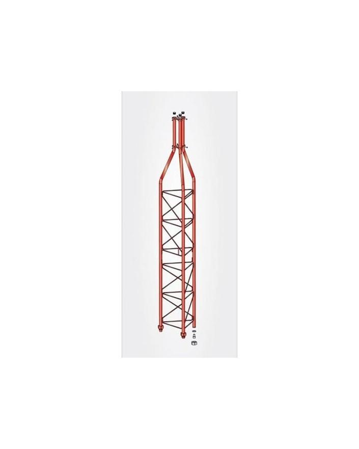 Tramo Superior Torre 450 Zinc+Rojo 3m