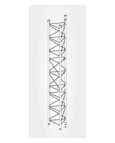 Tramo Intermedio Reforzado Torre 450 Zinc+Blanco 3m